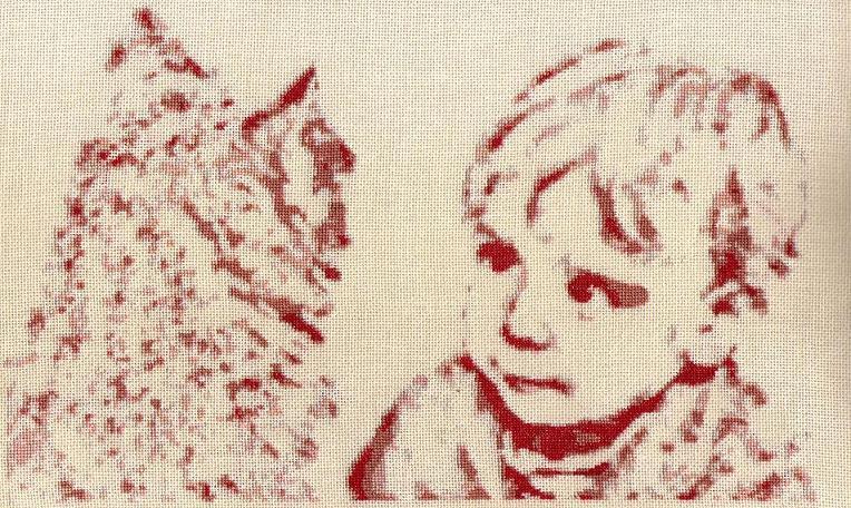 l`enfant et le chat